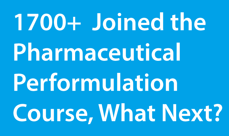 What would you like to learn after the Pharmaceutical Preformulation E-Course?