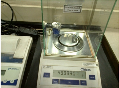 Calibration Criteria for Analytical Balance